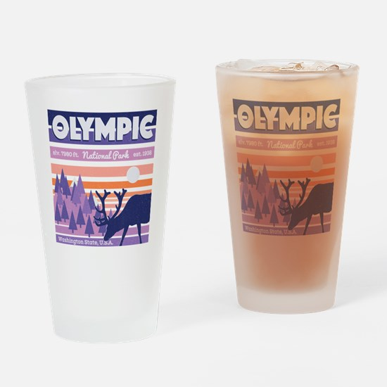 Cute Olympic Drinking Glass