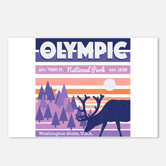 Olympic National Park Sun Postcards (Package of 8)