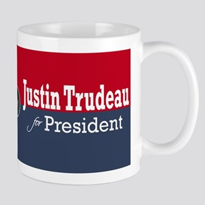 Justin Trudeau For President Mugs