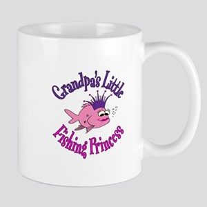 Grandpa's Fishing Princess Mug