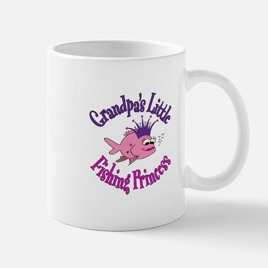 Grandpa's Fishing Princess Mug