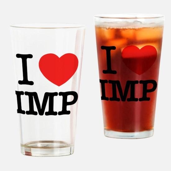 Cute Imp Drinking Glass