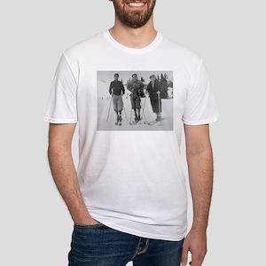 Seattle Ski Club on Rainier - Vintage Photo T-Shir