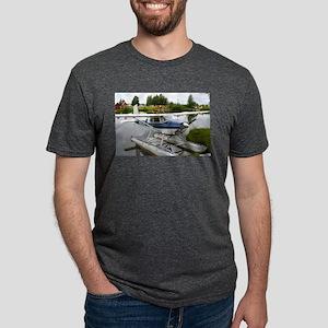 White & navy float plane, Alaska T-Shirt