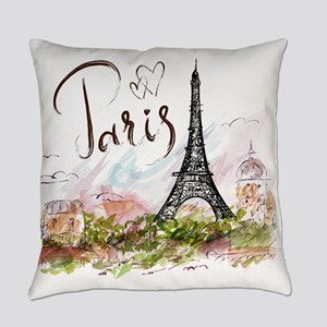 Paris Everyday Pillow
