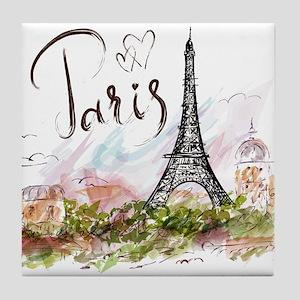 Paris Tile Coaster
