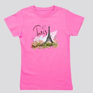 Paris Girl's Tee