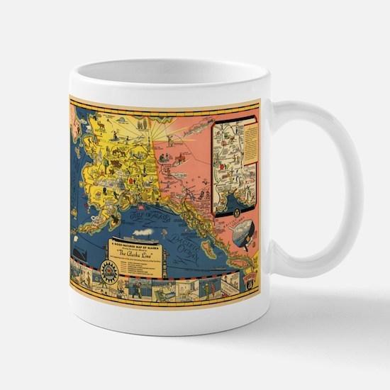Alaska Steamship Company - (1934) - Map Mugs