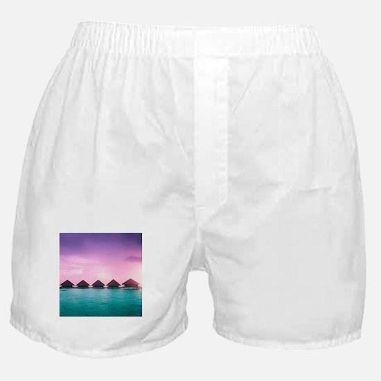 Ocean Bungalows Boxer Shorts