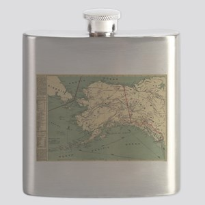Alaska - (1897) - Panoramic Map Flask