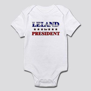 LELAND for president Infant Bodysuit