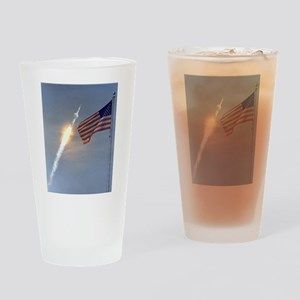 Apollo 11 Launch - Vintage Photo Drinking Glass