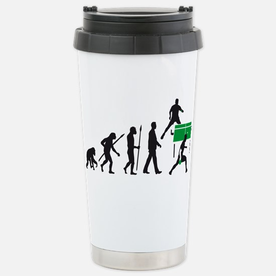 evolution table tennis player Mugs
