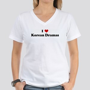 I Love Korean Dramas T-Shirt