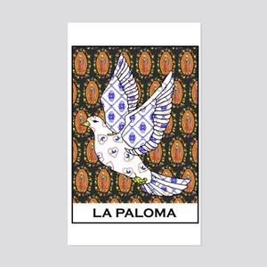La Paloma Rectangle Sticker