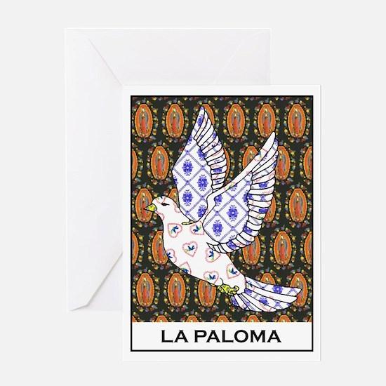 La Paloma Greeting Card