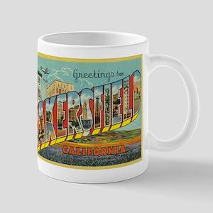 Greetings from Bakersfield, California Mugs