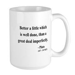 Plato 16 Large Mug