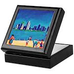 San Diego Beach Keepsake Box