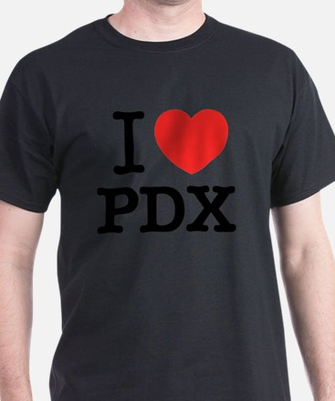 Funny I love pdx T-Shirt