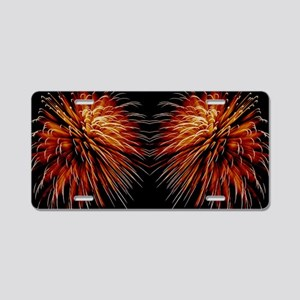 Harvest Moons Fireworks Aluminum License Plate