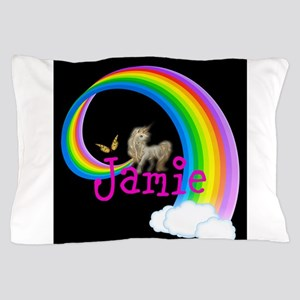Unicorn rainbow personalize Pillow Case