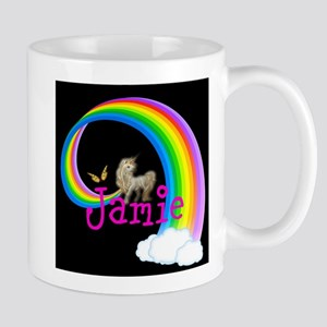 Unicorn rainbow personalize Mugs