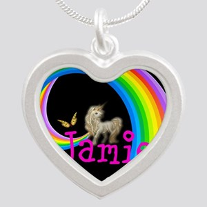 Unicorn rainbow personalize Necklaces