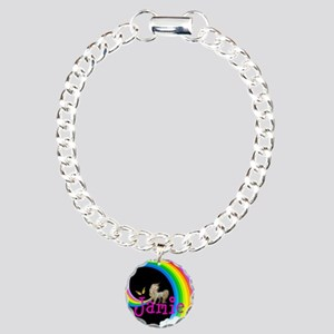 Unicorn Rainbow Personalize Bracelet
