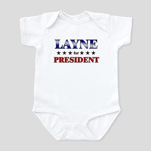 LAYNE for president Infant Bodysuit