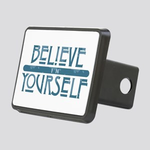 Believe in Yourself Rectangular Hitch Cover