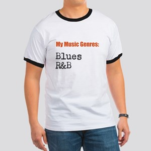 My Music Genres - 11 - Blues/R&B T-Shirt