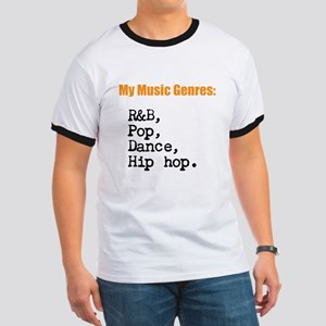 My Music Genres - 9 - R&B/POP and... T-Shirt