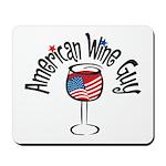 American Wine Guy Mousepad