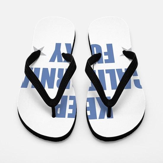 KEEP CALIFORNIA FUNKY Flip Flops