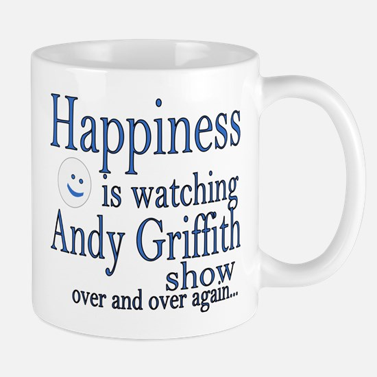 Happiness is watching Andy Griffith Mugs