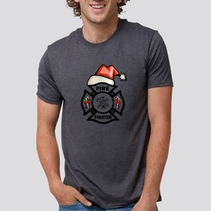 Firefighter Santa T-Shirt