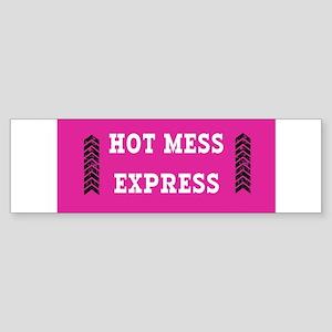 Hot Mess Express Bumper Sticker