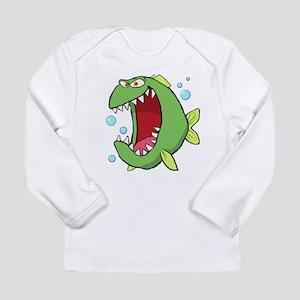 Crazed Fish Long Sleeve T-Shirt