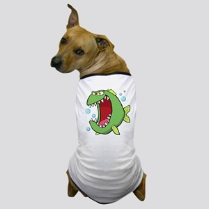 Crazed Fish Dog T-Shirt