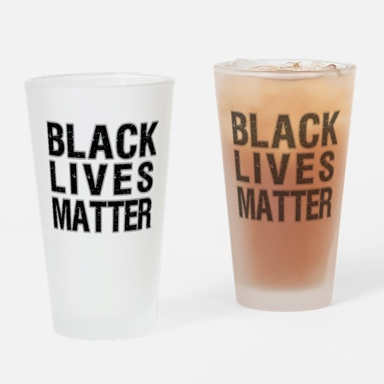 Black Lives Matter! Drinking Glass