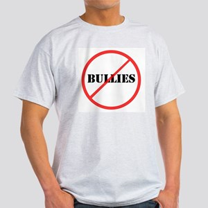 No Bullies Ash Grey T-Shirt