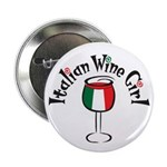 Italian Wine Girl Button