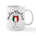 Italian Wine Girl Mug