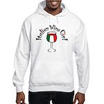Italian Wine Girl Hooded Sweatshirt