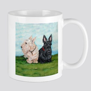 Scottish Terrier Companions Mug