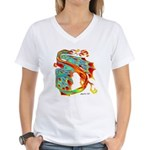 Wind Dragon Women's V-Neck T-Shirt
