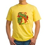Wind Dragon Yellow T-Shirt