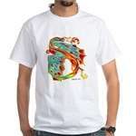 Wind Dragon White T-Shirt