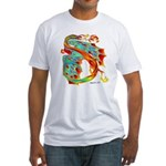 Wind Dragon Fitted T-Shirt